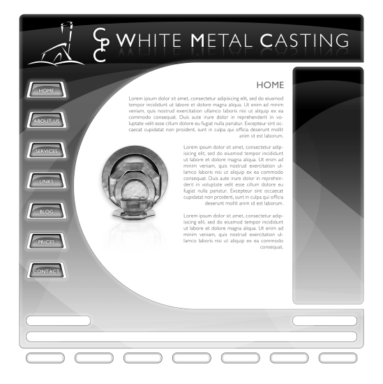 Website design for CPC