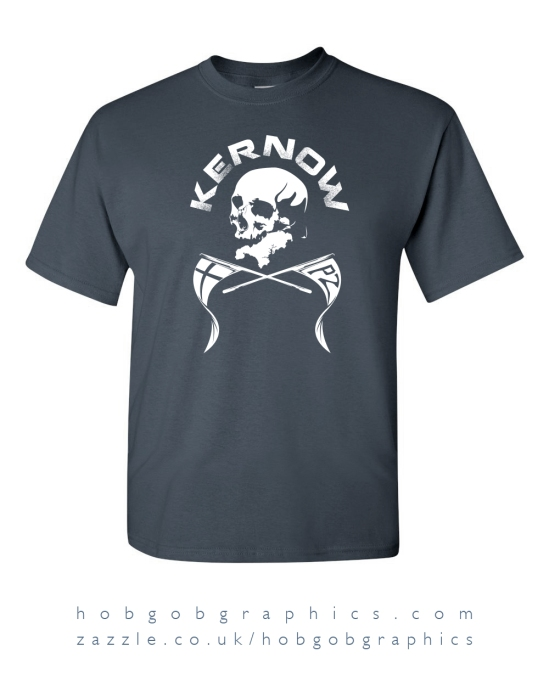 kernow cornwall cornish skull pirate crossbones cool modern pirans flag XL L M S XXL XXXL